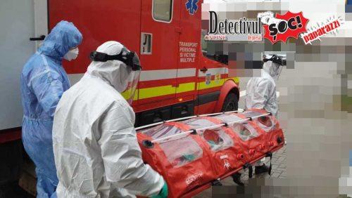 Exclusiv. Pacientă cu CORONAVIRUS din zona VIP, transportată de URGENȚĂ din Baia Mare la un spital din Cluj