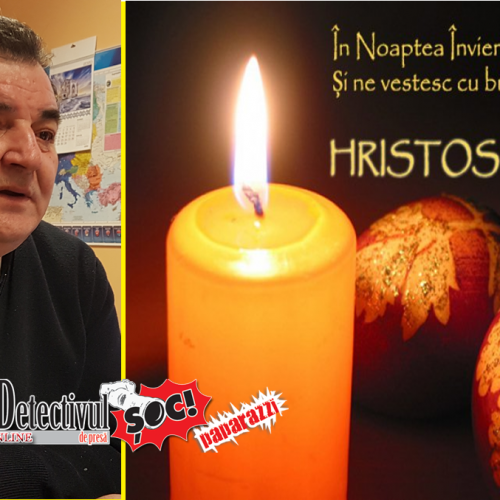 """Gavril Ropan, primar Coroieni: """"Hristos a ÎNVIAT! Și asta se simte în orice are viață"""""""