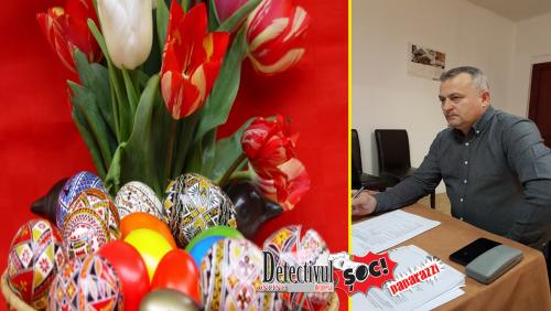 """Simion Pop, consilier local Budești: """"Isus să fie mereu viu în sufletul fiecăruia și astfel vom trăi veșnic. Paște fericit!"""""""