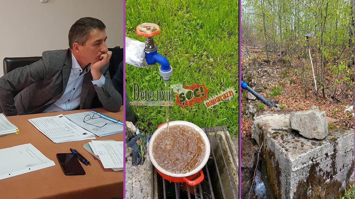 VIDEO. Apă NEAGRĂ la BUDEȘTI. Primarul Liviu Tămaș și consilierii PSD și UNPR au RESPINS proiectul pentru o APĂ CURATĂ. Consilierii PNL și PMP vor să SALVEZE situația