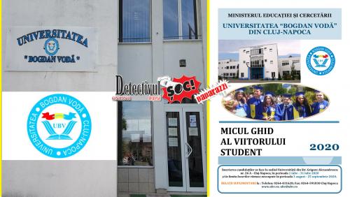 """Înscrieri. FACILITĂȚI pentru STUDENȚII de la """"Bogdan Vodă"""". Studii universitare de LICENȚĂ și de MASTERAT – (Video)"""
