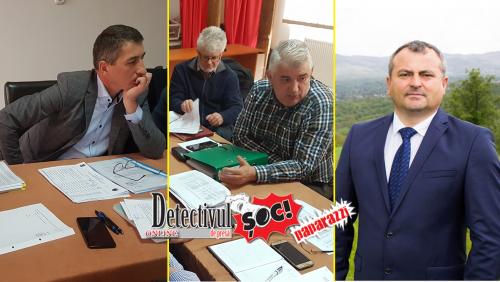 """BUDEȘTI. Primarul Liviu Tămaș în CÂRDĂȘIE cu Ocolul Silvic Mara AU FURAT din PĂDUREA budeștenilor. """"Ne LUĂM pădurea înapoi dar și BANII"""", spune consilierul Simion Pop"""
