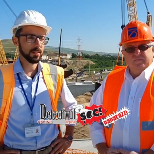 """AUTOSTRADA Sebeș-Turda. Felician Cerneștean (CNAIR): """"S-a montat primul TABLIER peste calea ferată. Lucrările sunt în grafic"""""""