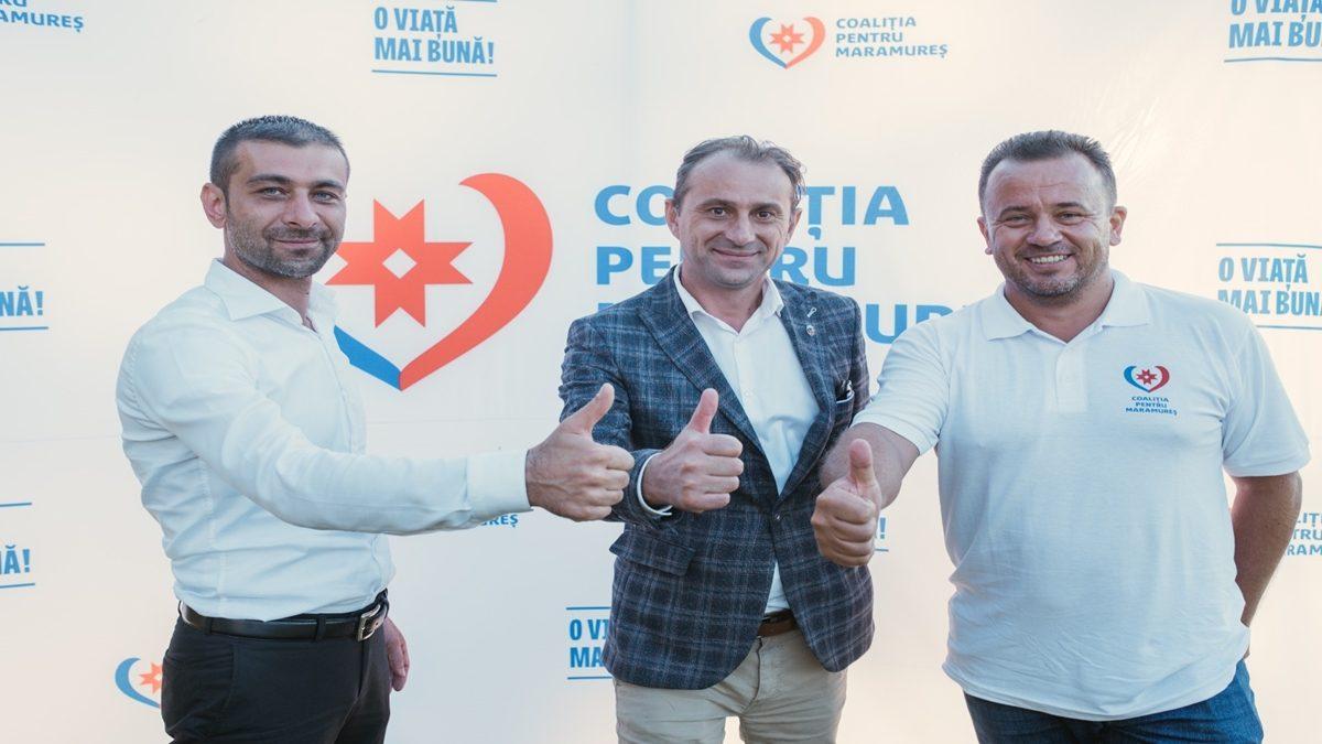 Candidații Coaliției pentru Maramureș reprezintă toate păturile și categoriile sociale