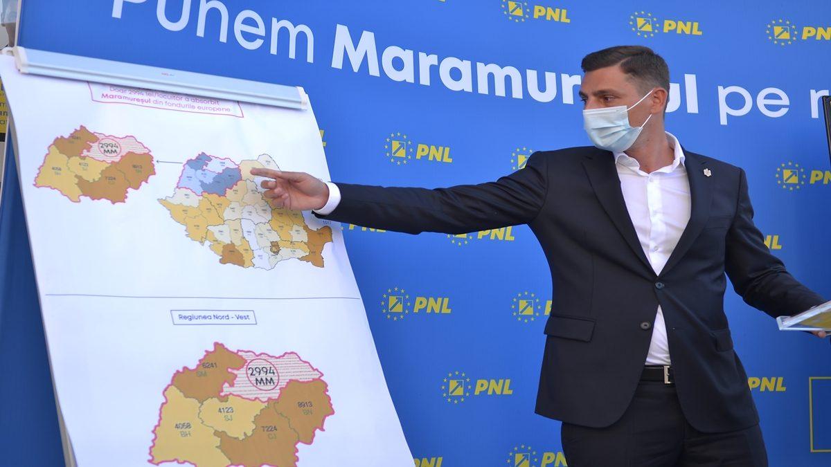 Ionel Bogdan: Zetea a adus în Maramureș doar 10 milioane de euro din fonduri europene. Suntem pe ultimul loc în regiunea Nord-Vest