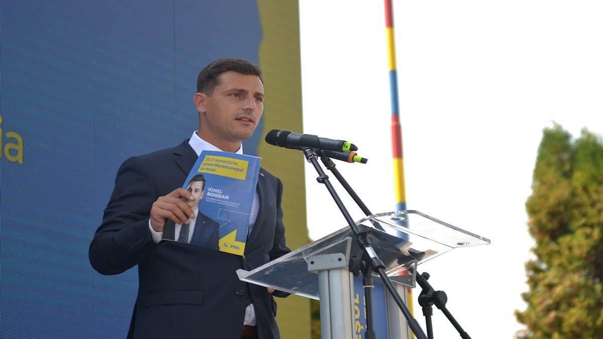 Cel mai tânăr candidat al PNL la șefia unui Consiliu Județean are un plan de 1 miliard de euro pentru județul Maramureș