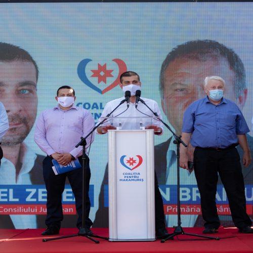 Coaliția pentru Maramureș a lansat candidații la primăriile din comunitățile de pe Valea Tisei