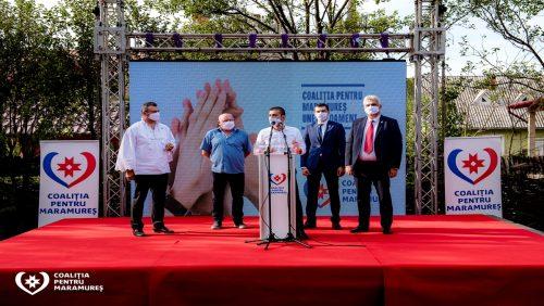 Coaliția pentru Maramureș a lansat candidații pentru primăriile de pe Valea Izei