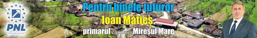 Ioan Maties Primarul Comunei Miresul Mare
