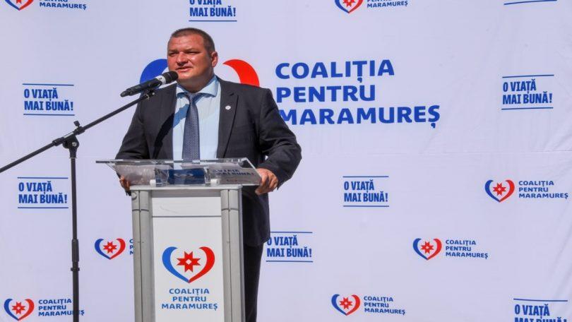 Edilul Ciprian Rus candidează, din partea Coaliției pentru Maramureș, pentru al patrulea mandat în fruntea Primăriei Ardusat