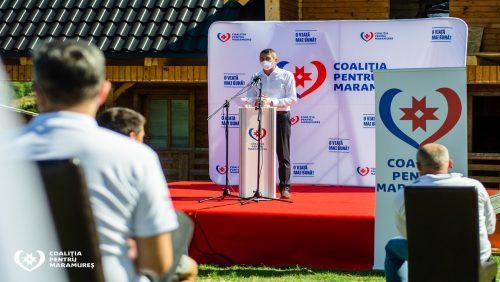 Liviu Tămaș candidează din partea Coaliției pentru Maramureș pentru al șaselea mandat de primar în Budești