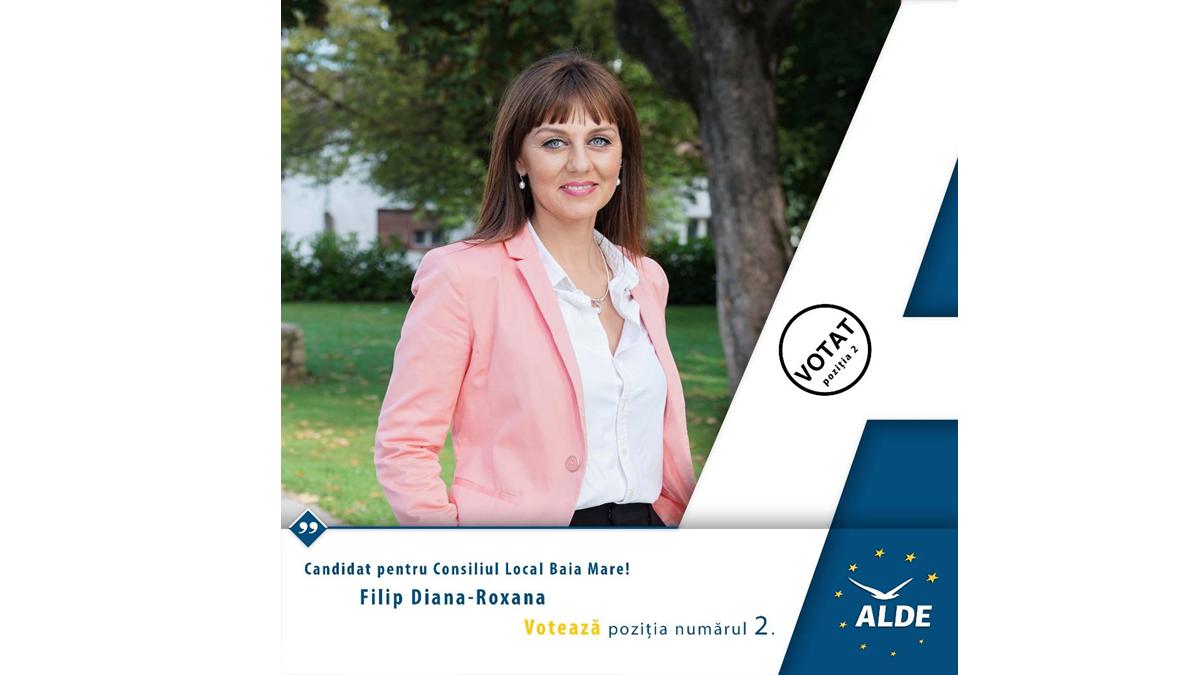 Filip Diana Roxana (ALDE) își PREZINTĂ PROIECTELE pentru Baia Mare
