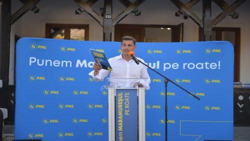 Ionel Bogdan: Duminică, maramureșenii au șansa istorică să pună județul pe drumul dezvoltării