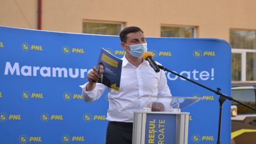Ionel Bogdan (PNL): Vom dezvolta Maramureșul prin investiții