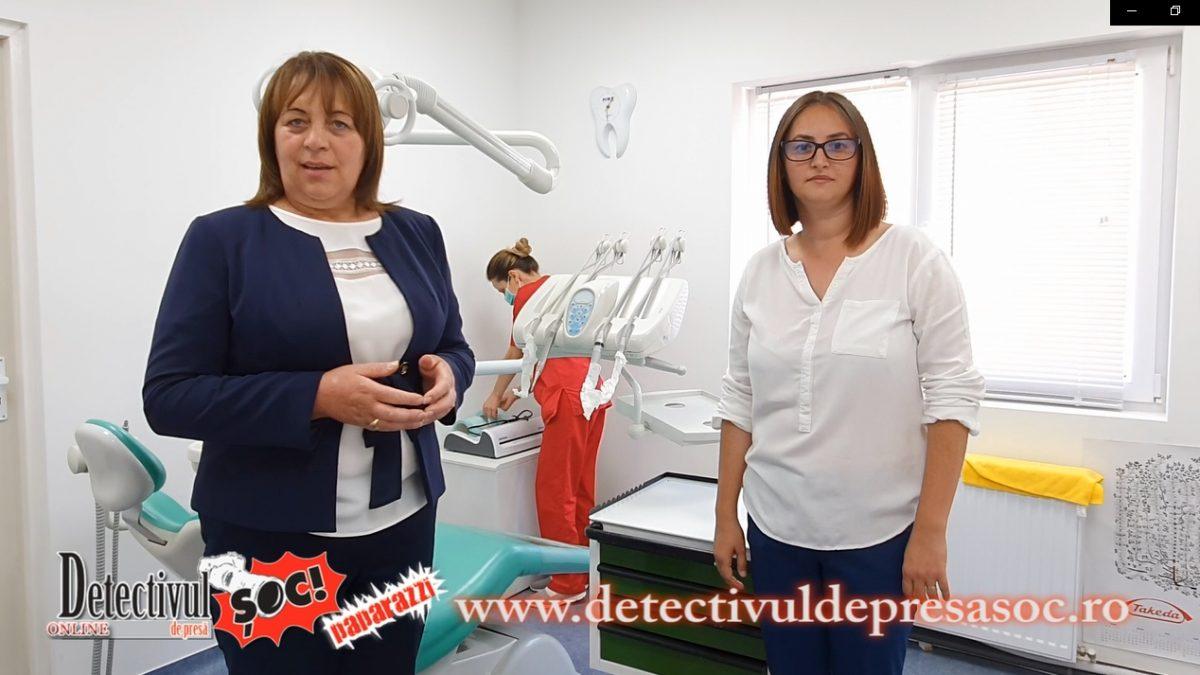 BOGDAN VODĂ. Din REALIZĂRILE primarului Anuța Bizău și viceprimarului Maria Cuciureanu: Cabinetul STOMATOLOGIC și Laboratorul de ANALIZE medicale