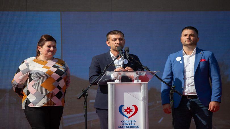 Coaliția pentru Maramureș a lansat candidații pentru primăriile din Țara Lăpușului