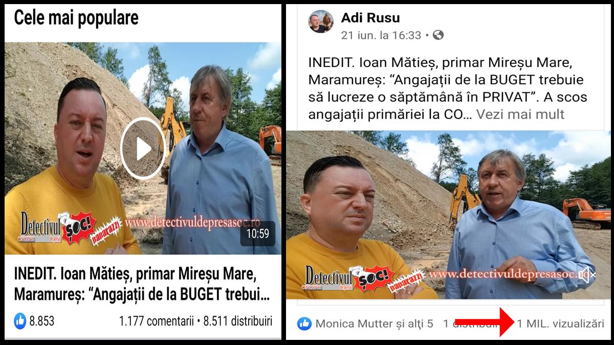 Detectivul de Presă ȘOC! Video-reportajul de 1,1 MILIOANE de VIZUALIZĂRI pe Facebook! Tema a devenit PROIECT LEGISLATIV al primarului Ioan Mătieș. Vezi POVESTEA cifrelor FANTASTICE de la postare până acum