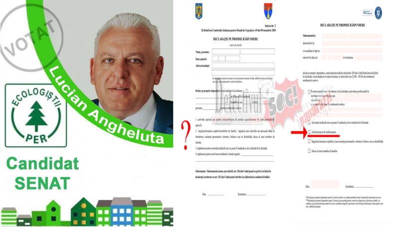 """Lucian Angheluță (PER) către PNL: """"OPRIȚI-VĂ CRIMINALILOR. Ați scos de pe declarația pe propria răspundere ACHIZIȚIONAREA de MEDICAMENTE dar vreți să meargă lumea la vot"""""""