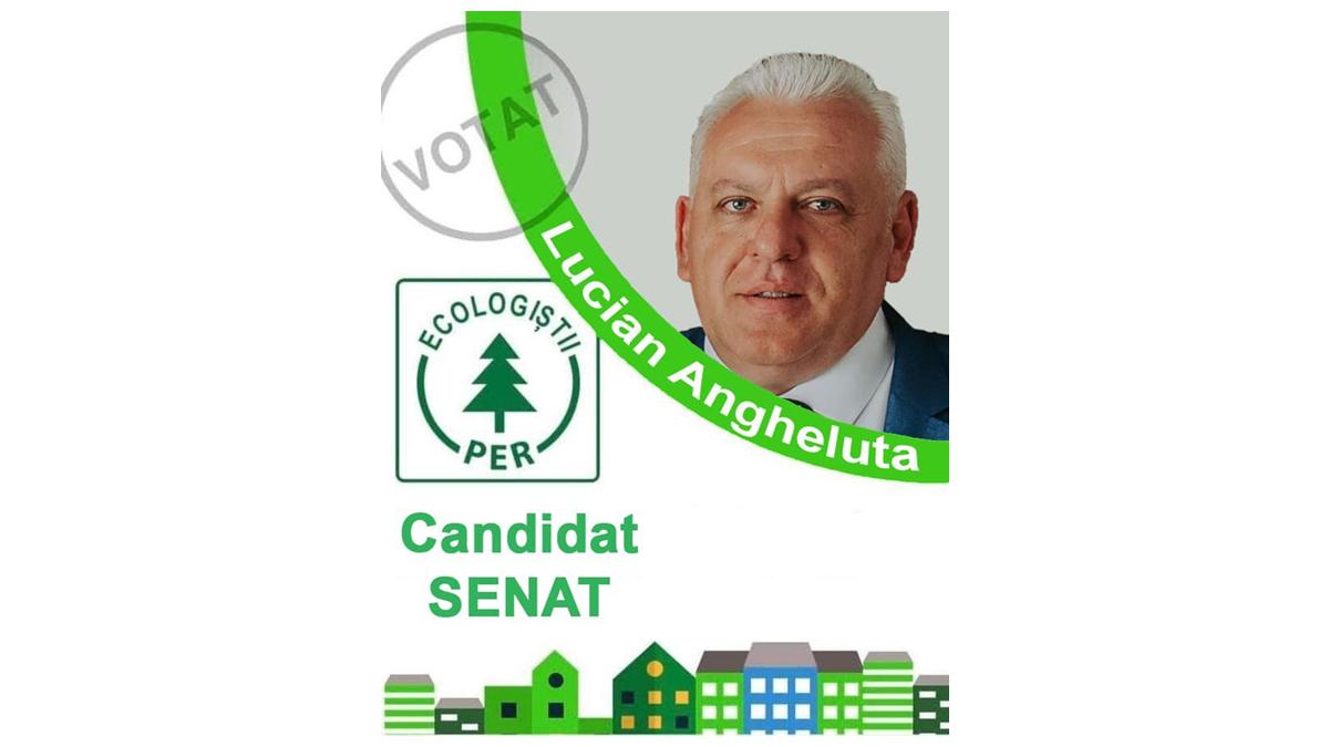"""Lucian Angheluță (PER), candidat pentru Senat: """"Tablete contra vot, ultima fiță a PNL-ului"""""""