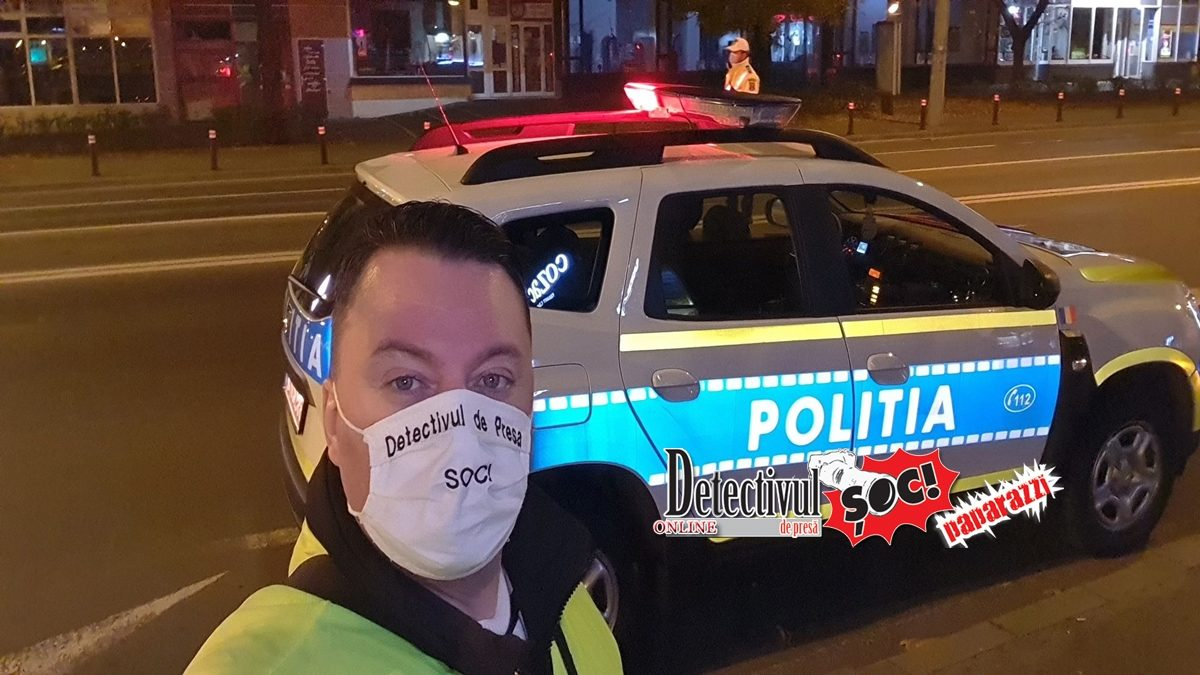 Detectivul pe TEREN cu POLIȚIȘTII. De ieri noapte, RESTRICȚII de circulație între 23:00 – 05:00 în toată țara. ADEVERINȚELE la control