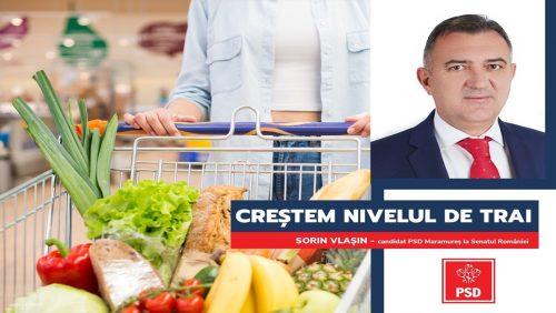 """Sorin Vlașin: """"PSD promite creșterea nivelului de trai pentru toți românii"""""""