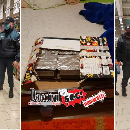 PERCHEZIȚII la DOMICILII. 300 kg de articole pirotehnice ridicate azi de polițiștii maramureșeni