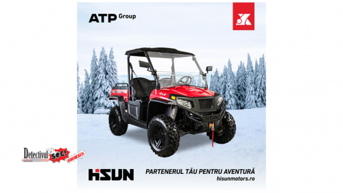 Gata cu JOACA!  Prin ATP Group acum ai ocazia să accesezi UTV-uri și ATV-uri de calitate pentru MUNCĂ și AVENTURĂ!