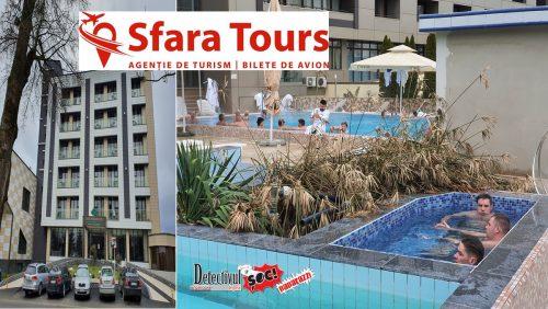 Imagini SPECTACULOASE 360° prezentate de DETECTIVUL. Hotelurile PRESIDENT, Băile Felix, prin Sfara Tours Baia Mare. Vezi OFERTA