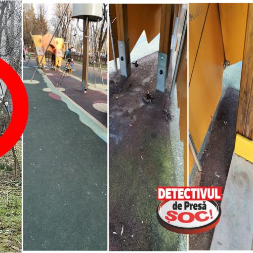 CURĂȚENIE în parcurile pentru copii, pline de EXCREMENTE după sesizarea unui CITITOR – Detectiv de Presă!