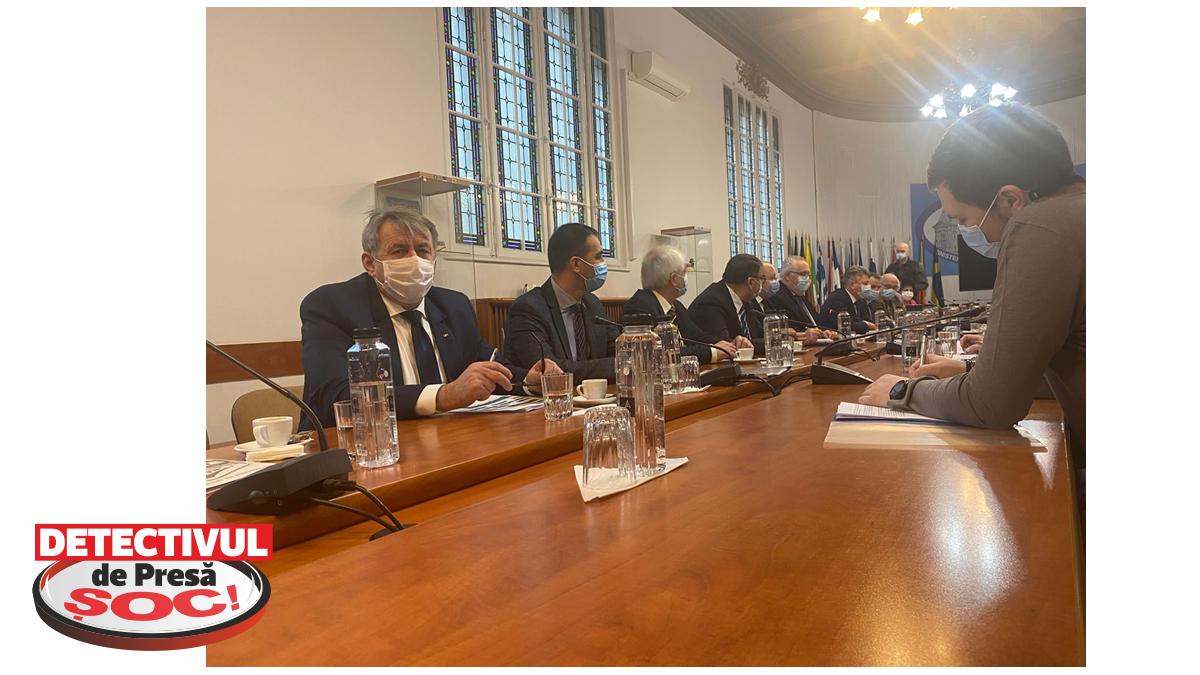 PRIMARUL Ioan Mătieș a fost la o serie de întâlniri cu miniştrii guvernului României