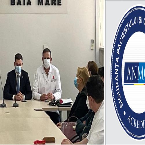 """Ionel Bogdan: """"ANMCS a apreciat Spitalul Județean ca fiind spital etalon în ceea ce privește practica medicală"""""""