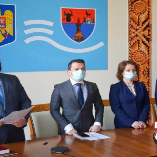 Liberalul Rudolf Stauder a depus jurământul în calitate de subprefect al județului Maramureș