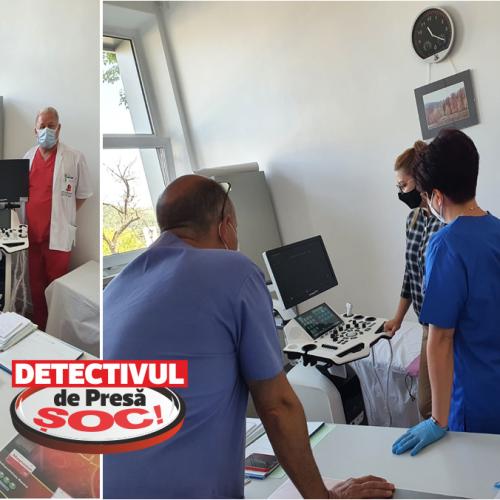 De Ziua Asistentului Medical, ecograf staționar doppler color pe Secția de Endocrinologie a Spitalului Județean Baia Mare