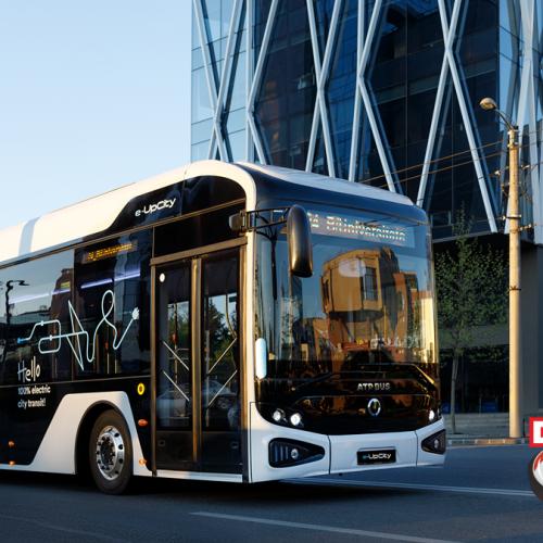 ATP Trucks Automobile din Baia Mare anunță lansarea ATP Bus e-UpCity, primul autobuz electric românesc