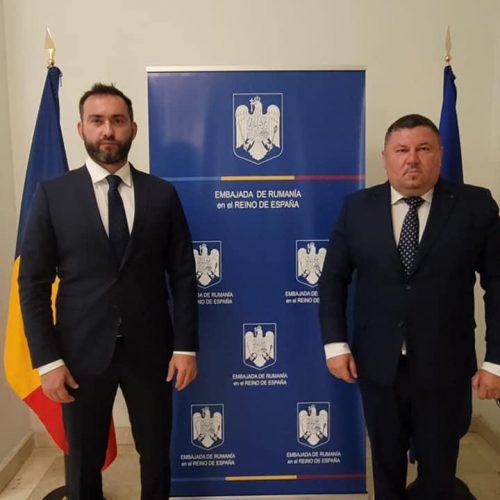 """Cristian Niculescu -Țâgârlaș : """"Am avut o discuție constructivă și productivă cu ambasadorul României la Madrid, abordând probleme de interes pentru țările noastre și teme majore privind viața comunităților românești din Regatul Spaniei"""""""