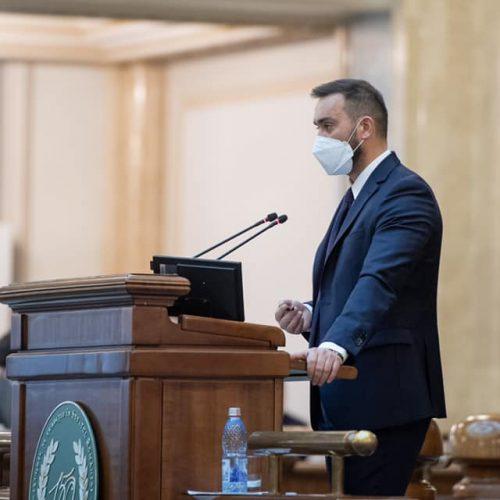"""Senatorul Țâgârlaș: """"Am votat pentru alegerea primarilor și a președinților de consilii județene în două tururi de scrutin"""""""
