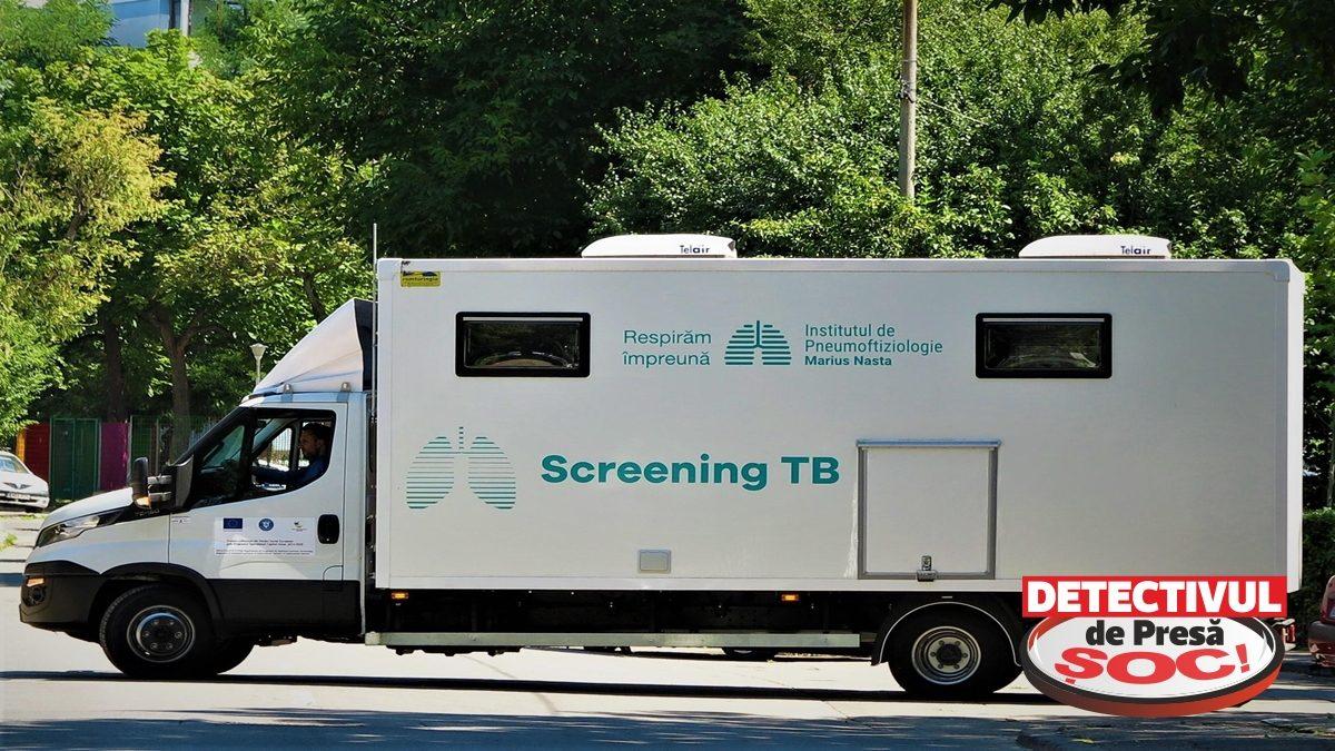 12 comune maramureșene vor beneficia de serviciile CARAVANEI de TESTARE gratuită a sănătății plămânilor și depistare activă a TUBERCULOZEI
