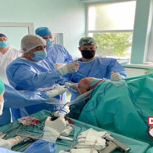 """INTERVENȚIE chirurgicală COMPLEXĂ la Spitalul Județean """"Dr. Constantin Opriș"""""""
