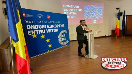 """Gabriel Zetea, deputat PSD: """"Oportunitățile de finanțare prin PNRR prezentate în cadrul unei sesiuni de informare de eurodeputatul PSD Victor Negrescu"""""""
