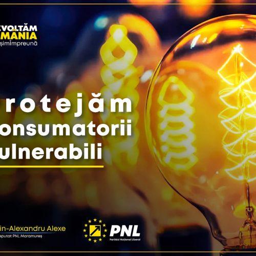 Deputatul Florin Alexandru Alexe, PNL: Am VOTAT azi LEGEA consumatorului vulnerabil