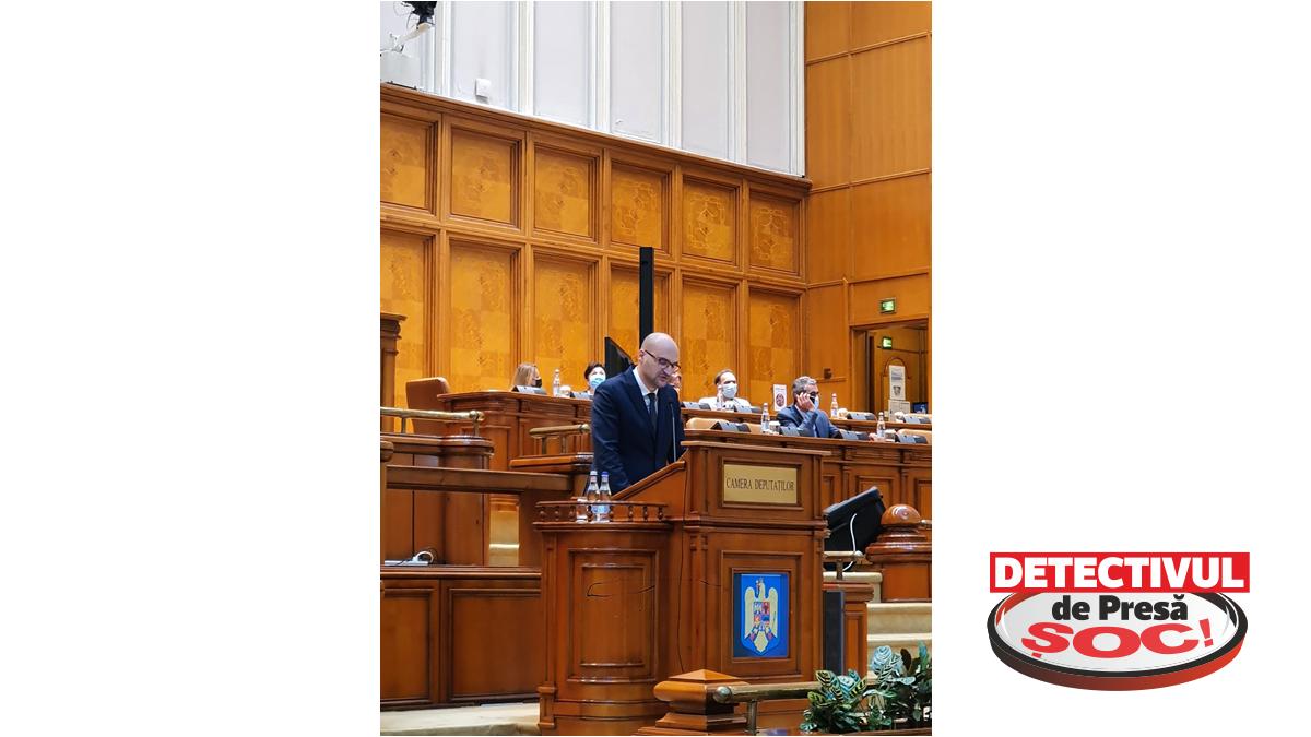 """Deputatul Florin-Alexandru Alexe: """"Am prezentat în plenul Camerei Deputaților poziția PNL privind actualizarea noii Strategii Industriale 2020"""""""